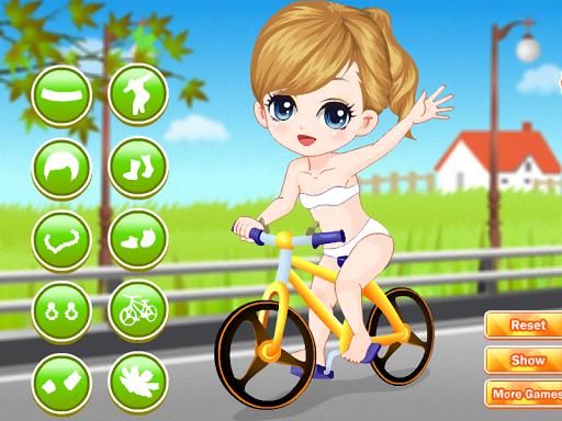 女の子のためのバイクのゲーム