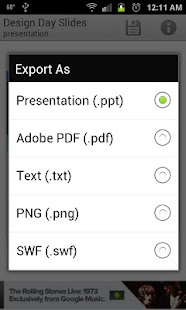 GDocs Export Free - screenshot thumbnail