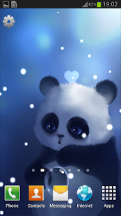 Panda Lite Live Wallpaper- screenshot thumbnail