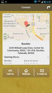 CU Boulder Career Services - screenshot thumbnail