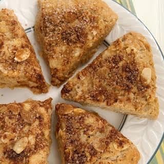 Cinnamon Almond Scones.