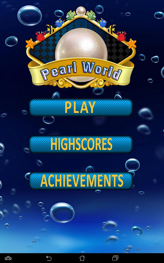 Pearl World - three in a row