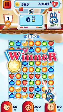 Fruit Pop Match 3 Puzzle Games 2.0 screenshot 870862