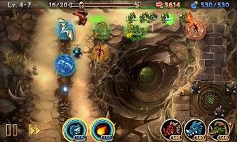 Screenshot of Lair Defense: Dungeon