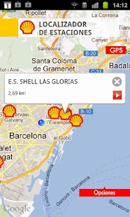 Shell, Estaciones de Servicio. - screenshot thumbnail