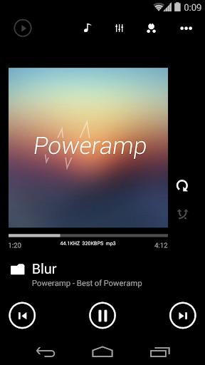 Poweramp skin Metro UI