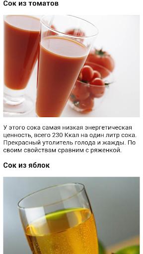 Самые полезные соки.