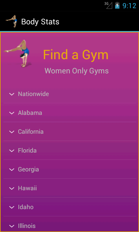 Body Stats - Women - screenshot