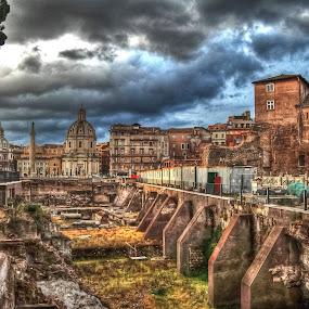 Roma (fori imperiali) by Fernando Ale - City,  Street & Park  Historic Districts (  )