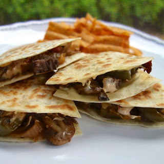 Chipotle Cheesesteak Quesadillas.
