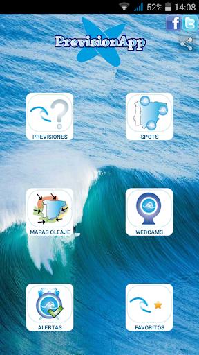 PrevisionApp Surf y olas