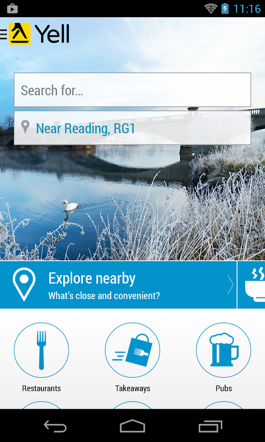 Yell Local Search - screenshot