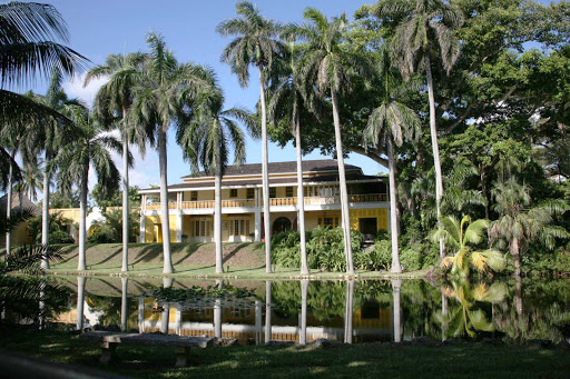 The historic Bonnet House in Fort Lauderdale, Florida, is in the U.S. National Register of Historic Places.