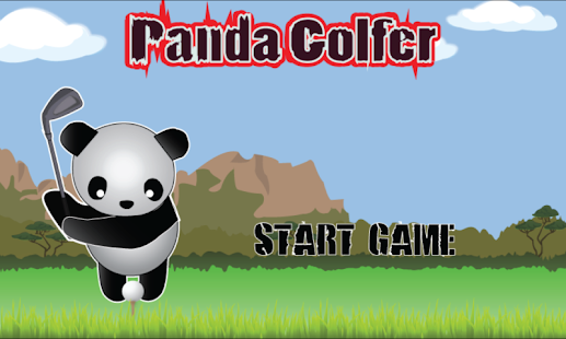 Panda Golfer screenshot