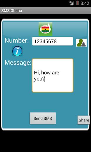 Free SMS Ghana
