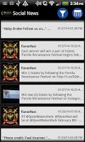 Screenshot of Florida Renaissance Festival