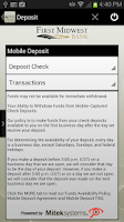 Screenshot of FMB Dexter Mobile Banking