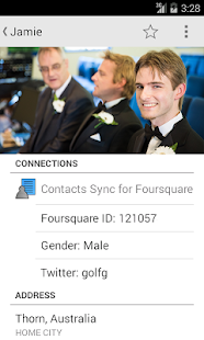 Contacts Sync for Foursquare- screenshot thumbnail
