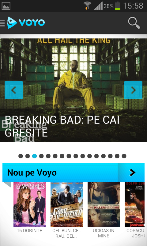 VOYO.ro- screenshot