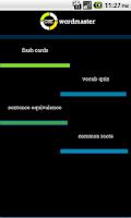 Screenshot of GRE WordMaster