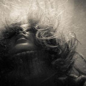 winter storm by Vesna Lavrnja - People Portraits of Women (  )