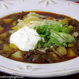Snowy Day Taco Soup.