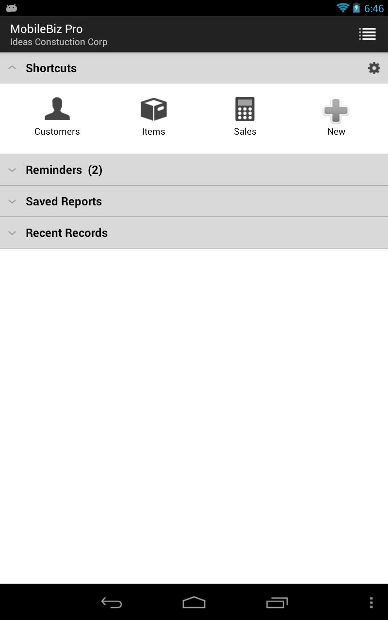 MobileBiz Pro - Invoice App Screenshot 8
