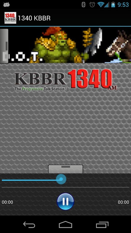 1340 KBBR - screenshot