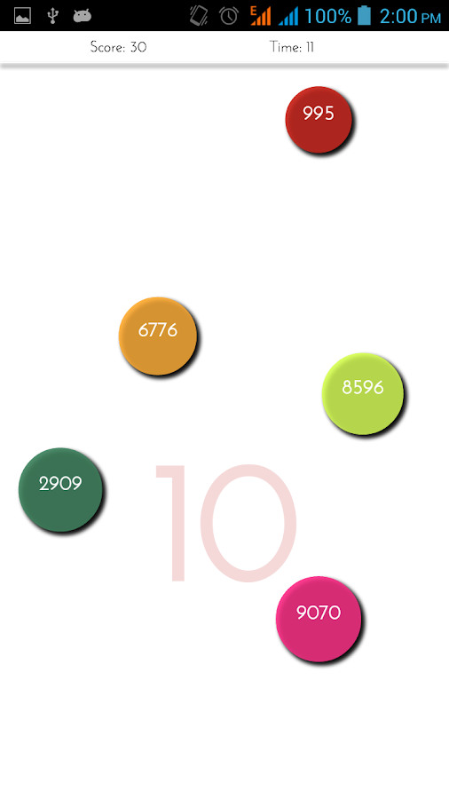Multiple - The Number Game - screenshot