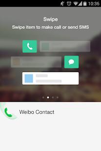 weibo contact - screenshot thumbnail