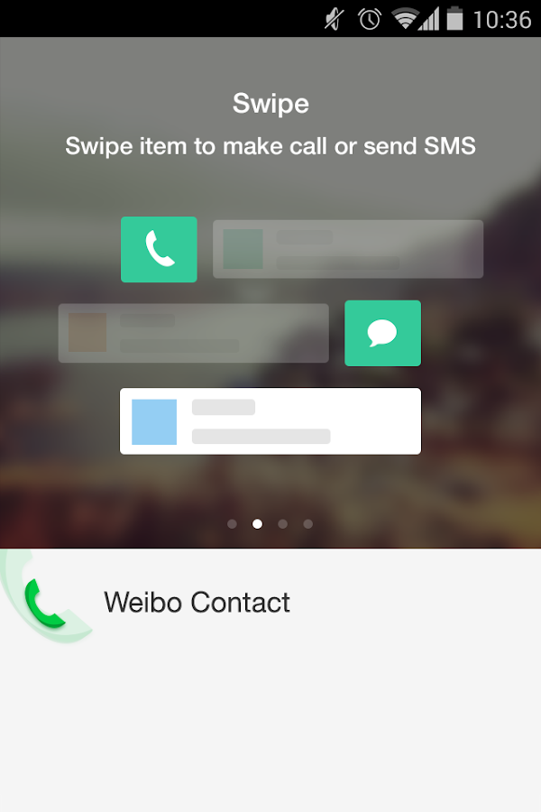 weibo contact- screenshot