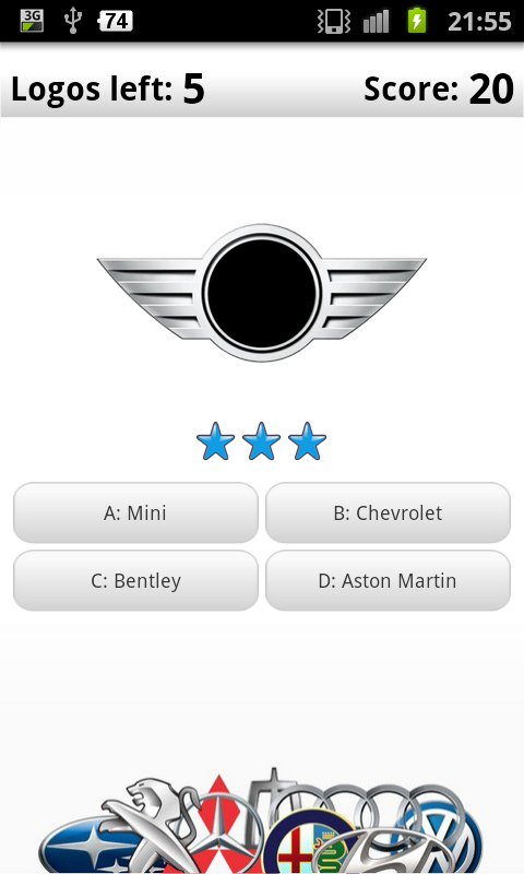 Logo Quiz PRO - Cars - screenshot