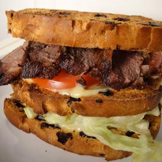 Duck Club Sandwich.