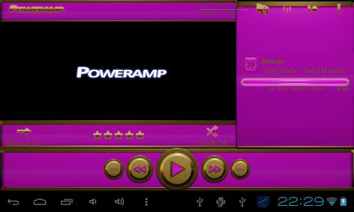 無料生活Appのpoweramp 皮膚ピンク|記事Game
