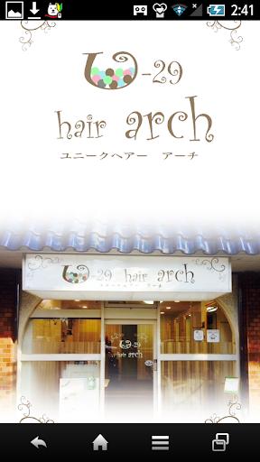 U29 hair Arch