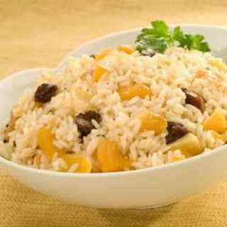 Rice Saute With Dried Fruit.