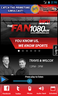 ESPN Sports Radio 1080 The FAN - screenshot thumbnail