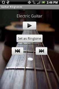 GUITAR Ringtones- screenshot thumbnail
