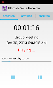 Ultimate Voice Recorder - screenshot thumbnail