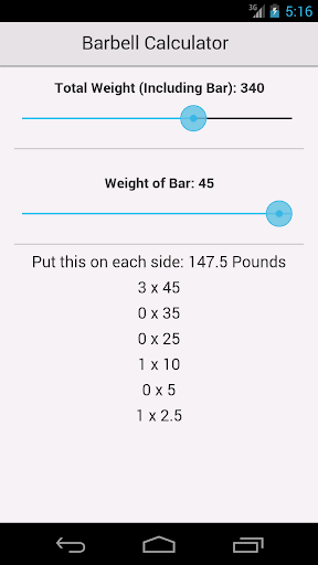 Barbell Calculator Free