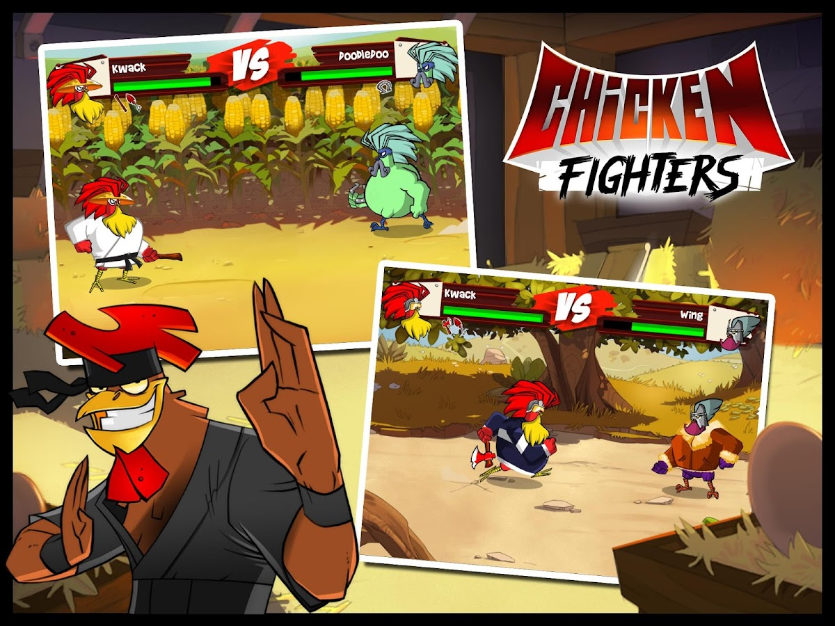 Chicken Fighters - screenshot