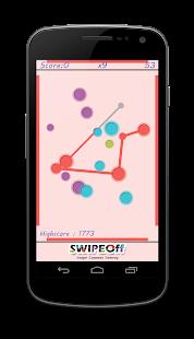 Swipe Off : a moving Dots Game - screenshot thumbnail