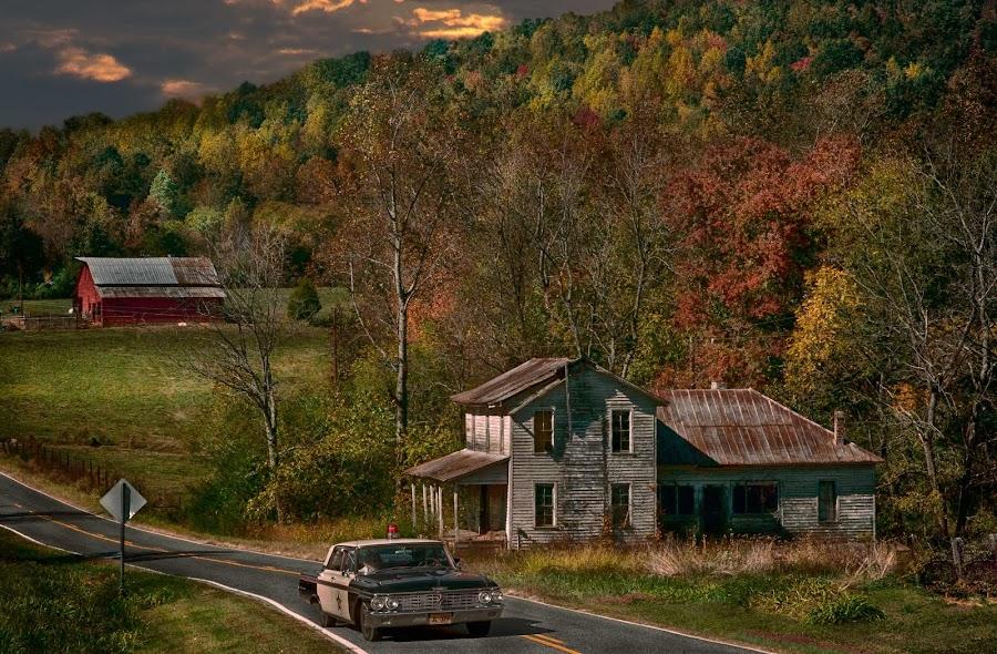 by Bruce Cramer - Landscapes Mountains & Hills (  )
