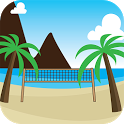 Beach Volley Guy!![Free Game] icon