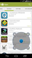 Screenshot of Sphero Joystick