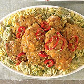 Chicken with Artichokes.