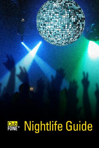 ClubFONE Nightlife Guide - screenshot