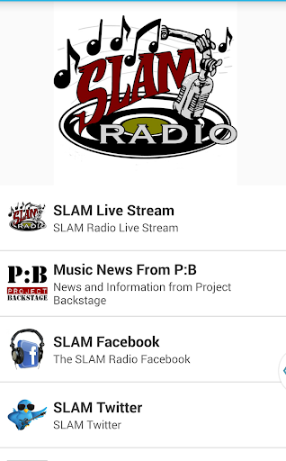 SLAM Live Radio Network