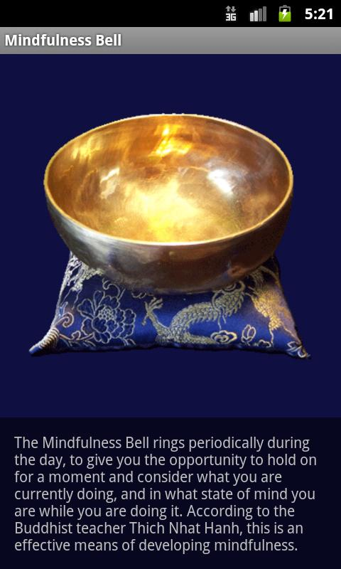 Mindfulness Bell - screenshot