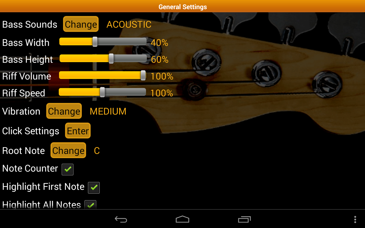 bass guitar tutor free android apps on google play. Black Bedroom Furniture Sets. Home Design Ideas